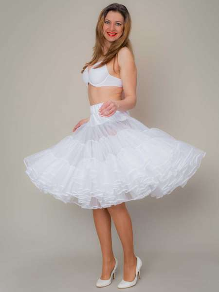 Petticoat SQUARE 60 weiss