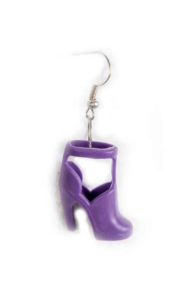 Ohrstecker HIGH HEEL Lila-hell